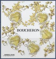 Bloc N° 146 Coeur Boucheron Valeur Faciale 0,88€ X 5 - Neufs