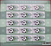 Kazakhstan  2006 World  Football  Championship - Germany  M/S Of 15  MNH - 2006 – Duitsland