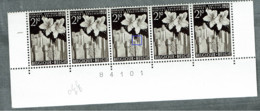 962  Bande 5 Cdf  **  V Signal  + 90 - Abarten (Katalog COB)