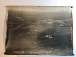 14-18 - Photo Prise D'Avion - 1917 - XIVe Corps D'Armée - Ferme VAURAINS (02) - War, Military