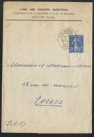 N°279 Sur Bande De Journal-Cachet De Teloche Sarthe - 1921-1960: Periodo Moderno