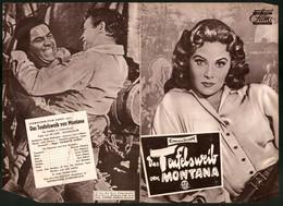 Filmprogramm DNF, Das Teufelsweib Von Montana, Rhonda Fleming, Guy Madison, Regie Harmon Jones - Magazines