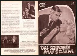Filmprogramm DNF, Das Schwarze Museum, Michael Gough, June Cunningham, Regie Arthur Crabtree - Magazines