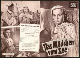 Filmprogramm DNF, Das Mädchen Vom See, Aina-Maija Tikkanen, Jussi Jurkka, Henny Valjus - Magazines