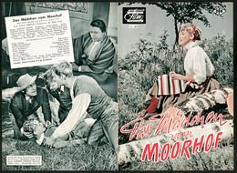 Filmprogramm DNF Nr. 4059, Das Mädchen Vom Moorhof, Maria Emo, Claus Holm, Regie Gustav Ucicky - Magazines