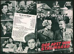 Filmprogramm DNF, Der Arzt Von Stalingrad, O.E. Hasse, Eva Bartok, Regie Geza Radvanyi - Magazines