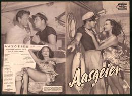 Filmprogramm DNF, Aasgeier, John Bromfield, Lon Chaney, Regie W. Lee Wilder - Magazines