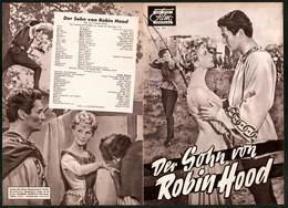 Filmprogramm DNF, Der Sohn Von Robin Hood, Al Hedisson, David Laverick, Regie George Shereman - Magazines
