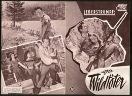 Filmprogramm DNF, Der Wildtöter, Lex Barker, Rita Moreno, Regie Kurt Neumann - Magazines