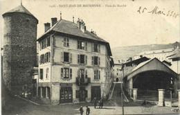 SAINT JEAN DE MAURIENNE Place Du Marché Recto Verso - Saint Jean De Maurienne