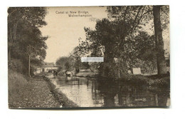 Wolverhampton - Canal At New Bridge - C1920's Postcard - Wolverhampton