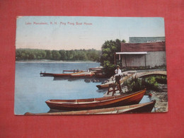 Ping Pong Boat House Lake Massabesic  New Hampshire >   Ref 4601 - Ohne Zuordnung