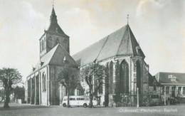 Oldenzaal 1958; St. Plechelmuskerk, Basiliek (met Mooie Oude Bus) - Gelopen. (Twenthe - Hengelo) - Andere