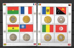 2007 - 576 à 583 **MNH - Drapeaux Et Monnaies - Unused Stamps