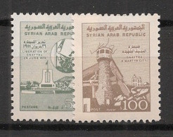 Syrie - 1983 - N°Yv. 688 à 689 - Série Courante - Neuf Luxe ** / MNH / Postfrisch - Syria