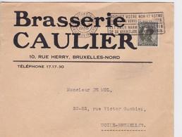 Brasseries/Brouwerijen  Caulier , Lettre  1936 - Unclassified