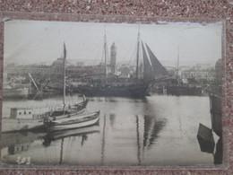 Carte Photo Port De Varna . Bateaux - Bulgaria