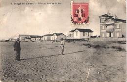 FR66 CANET PLAGE - Margail 6 - Villas Au Bord De La Mer - Animée - état - Canet Plage