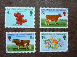 1970   Agriculture And Horticulture     SG = 36 To 39  **  MNH - Guernesey
