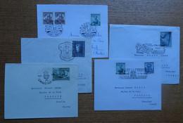 1955-2003 : Collection CHRISTKINDL : 31 Enveloppes + 8 Cartes, Cachets à Date Tous Différents - Colecciones