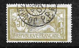 France  N° 120 Variété Ocre Et Gris  Oblitéré  Journaux Aoüt 1907  B/TB      Soldé        Le Moins Cher Du Site ! ! ! - Newspapers