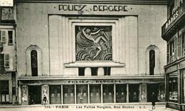 PARIS - Les Folies Bergère - Devanture Art Nouveau - Rue Richer - District 09