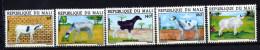 Mali ** N° 432 à 436 - Moutons - - Mali (1959-...)