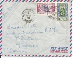 Dahomey 1961 Pour Toulouse - Otros - África
