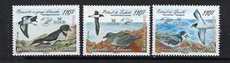 """Nle-Caledonie YT 1038 à 1040 """" Oiseaux Menacés """" 2008 Neuf** - Nuevos"""