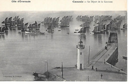 A/1         35     Cancale       Le Départ De La Caravane - Cancale