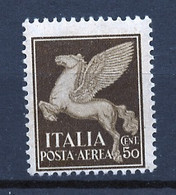 Italie - Italy - Italien Poste Aérienne 1930-32 Y&T N°PA12 - Michel N°328 Nsg - 50c Cheval Ailé - Luftpost