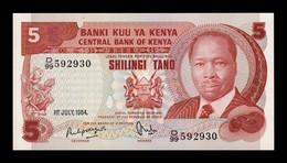 Kenia Kenya 5 Shillings 1984 Pick 19c SC UNC - Kenya