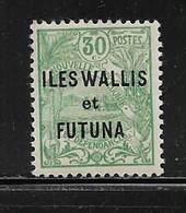 WALLIS ET FUTUNA  ( OCWAF - 230 )   1927  N° YVERT ET TELLIER  N° 40  N** - Unused Stamps
