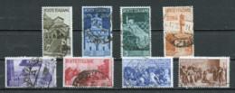 Italie - Italy - Italien 1946 Y&T N°504 à 511 - Michel N°723 à 730 (o) - Proclamation De La République - 1946-60: Usados