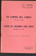 (gascon, ) Montauban (82 Tarn Et Garonne) Un Camping Mal Campat (pésso) / Jacou ... (coumedio) (M1483) - Zonder Classificatie