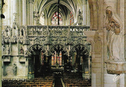 Troyes Eglise Sainte Madeleine Splendide Jubé (carte Vierge) - Chiese E Cattedrali