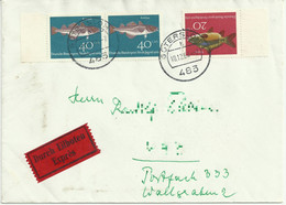 Cover Letter. Expres/ Durch Eilboten. Gütersloh 1964 - Storia Postale