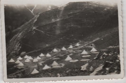 Photo Originale Militaria Chasseur Alpin Nommé Au Verso Camp De Restefond Ubaye - Oorlog, Militair