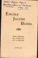 (gascon, ) La Brède (33 Gironde) Escole Jaufre Rudel - Jeux Floraux 1951 (M1486) - Unclassified