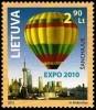 Lithuania Litauen Lituanie 2010 (06) EXPO 2010 Shanghai China - Hot Air Balloon - Lituania