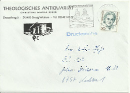 Cover Leter From Remagen. Special Stamp Machine.1986? - Storia Postale