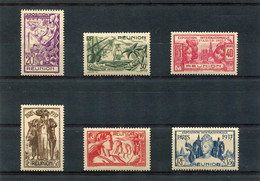 REUNION  N°  149 A 154 **  (Y&T)  (Neuf) - Unused Stamps