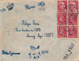 22433# MARIANNE GANDON CERES LETTRE Obl BRAY DUNES NORD 1948 Pour NIAMEY NIGER AOF - 1921-1960: Periodo Moderno