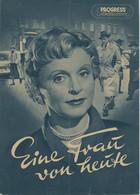 """PROGRESS Filmillustrierte """"Eine Frau Von Heute"""" DDR 250/54 - Magazines"""