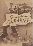 """PROGRESS Filmillustrierte """"Eva Erlebt Das PARADIES"""" DDR 284/54 - Magazines"""