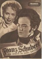 """PROGRESS Filmillustrierte """"FRANZ SCHUBERT - Ein Leben In Zwei Sätzen"""" DDR 119/53 - Magazines"""