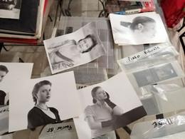 PLU DE 500 NEGATIF PHOTOS A UN JOURNALISTE DU JOURNAL DETECTIVE DES ANNEE 1980 MODE Nus Manequin ECT - Famous People
