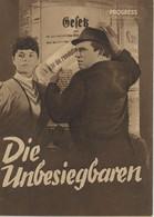 """PROGRESS Filmillustrierte """"Die Unbesiegbaren"""" DDR 1054/53 - Magazines"""