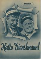 """PROGRESS Filmillustrierte """"Hallo Dienstmann!"""" DDR 107/55 - Magazines"""