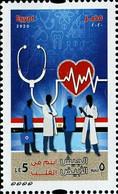 Egypt 2020 Medical Staff Against Coronavirus COVID -19 White Army - 1V MNH - Ziekte